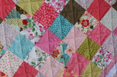 Apple Blossom Time Quilt