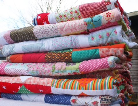 January's quilts