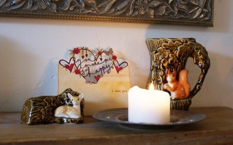 Sylvac bambi woodland vase
