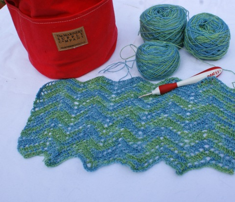 Ripply Scarf Pattern