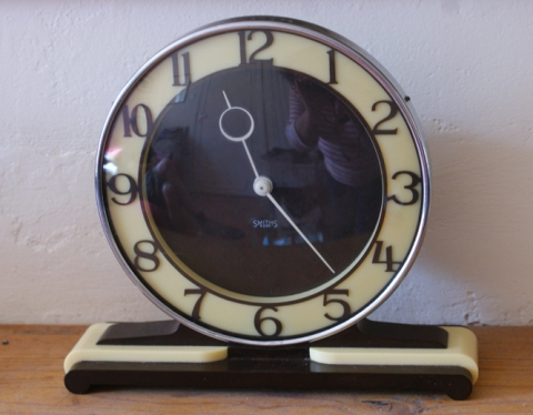 Anniversary Art Deco clock