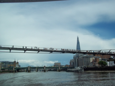 Millennium Bridge & the Shard