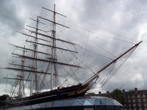 Our destination was Greenwich, home of the Cutty Sark