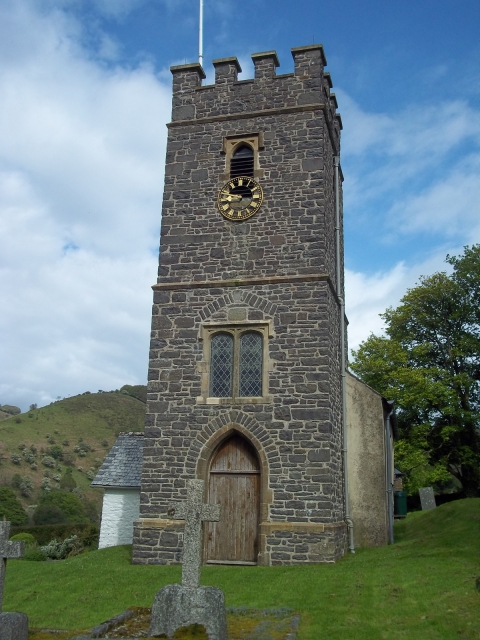 Oare Church where legend has it that Lorna Doone was shot as she took her wedding vows