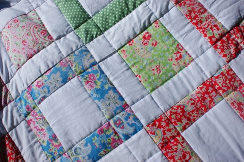 Summer Blossom blocks