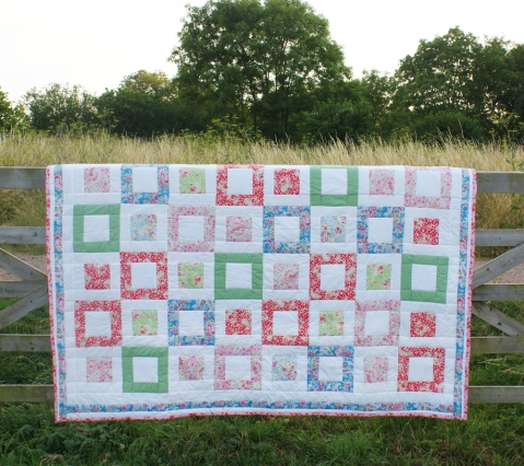 on location, down on the farm in high summer - Summertime Quilt