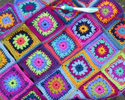 Gypsy Rose Blanket 2012