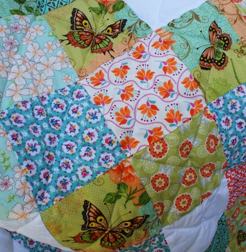Orange Blossom Quilt