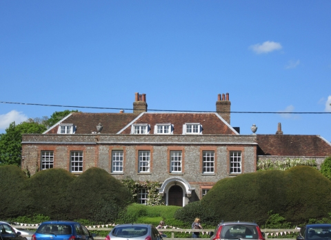 the fete was held in the back garden of the Big House