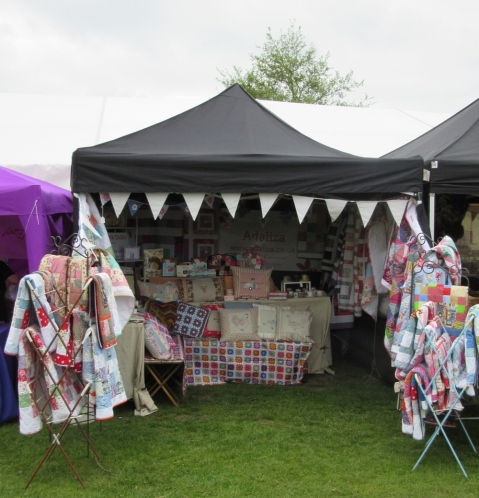 oh yes, that's the patchwork quilt stall