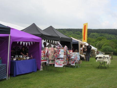 spot the patchwork quilt stall