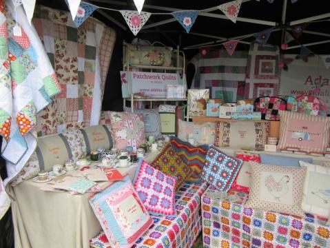 cushions & quilts & pincushions