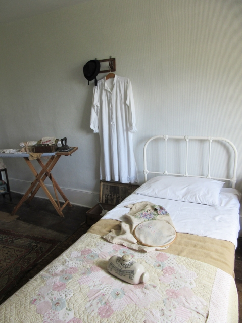 one of the maids' rooms