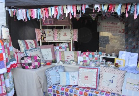 My scrappy bunting has attracted loads of attention!
