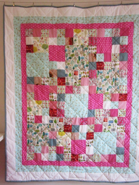 Honey Bee Commission Quilt