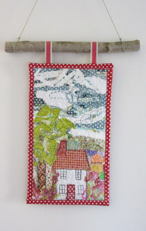 little house wallhanging