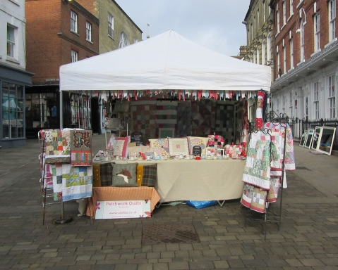 Adaliza's Patchwork Quilt Stall