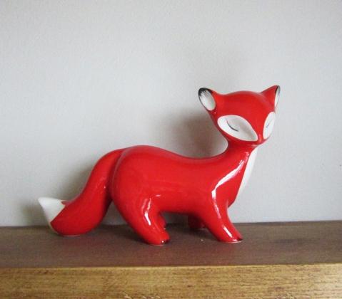 foxy ornament