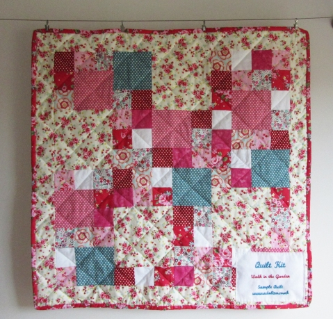 Walk in the Garden quilt